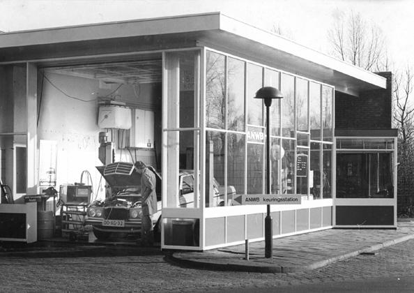 Tankstation Bellamystraat 1977